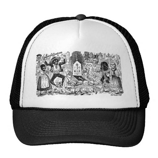 The Day of the Dead, Mexico. Circa early 1900's Trucker Hats