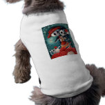 The Day of The Dead Skeleton Lovers Sleeveless Dog Shirt