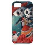 The Day of The Dead Skeleton Lovers iPhone 5 Covers