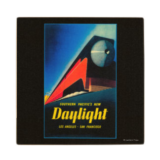 The Daylight Train Promotional Poster Wood Coaster