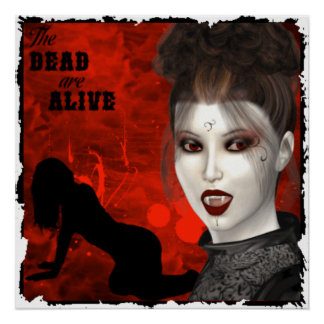 The Dead Are Alive - Poster
