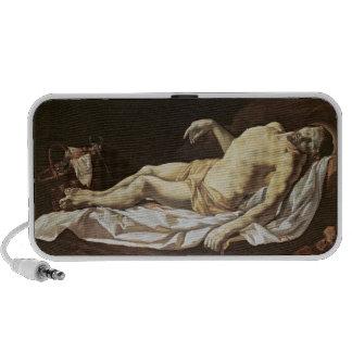 The Dead Christ (oil on canvas) 2 Portable Speaker