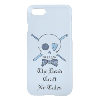 The Dead Craft No Tales -Craft Skull (Bow Tie #2) iPhone 7 Case