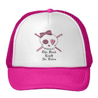 The Dead Craft No Tales (Pink) Cap