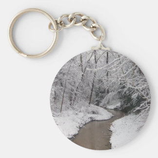 The Dead of Winter Basic Round Button Key Ring