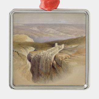 The Dead Sea looking towards Moab, Volume II Christmas Ornament
