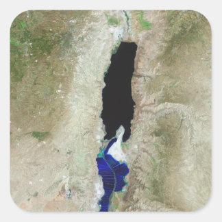 The Dead Sea Square Sticker