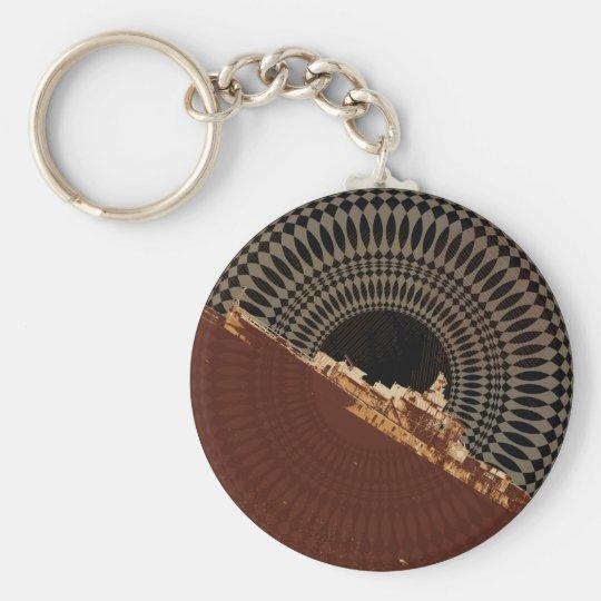 The Dead SeaChain Basic Round Button Key Ring