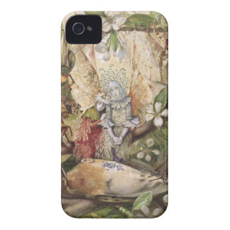 The Death of Cock Robin (w/c on paper) Case-Mate iPhone 4 Cases
