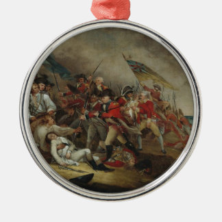 The Death Of General Warren At Bunker Hill Christmas Ornament