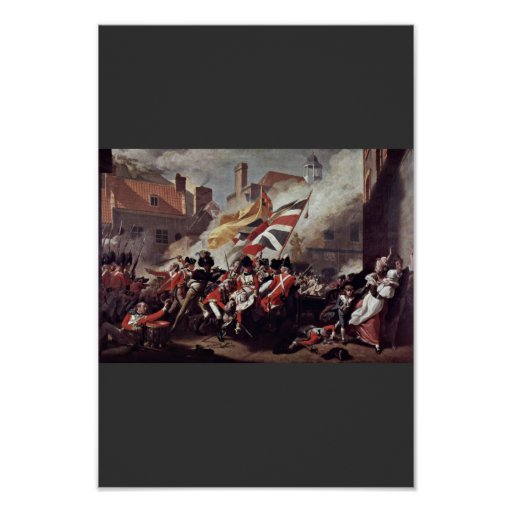 The Death Of Major Peirson By John Singleton Copl Posters