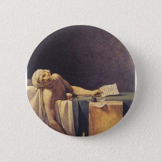 The Death of Marat 6 Cm Round Badge