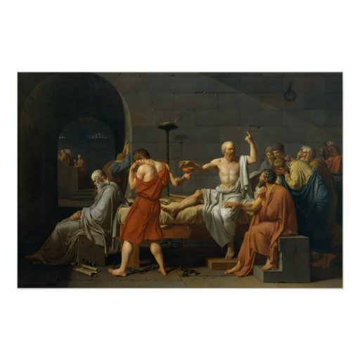The Death Of Socrates Posters