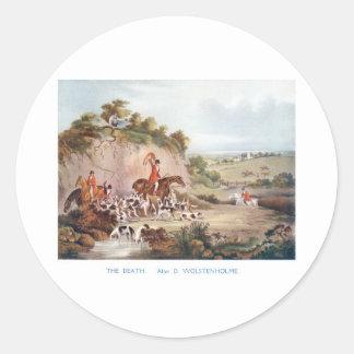 The Death Round Sticker