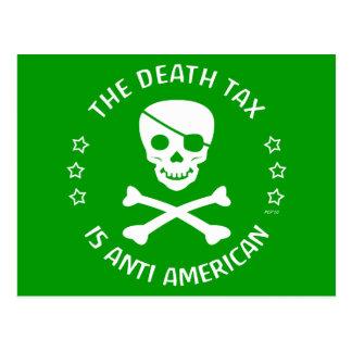 The Death Tax Postcards