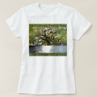 The DeBarge Family Tree Tee Shirt