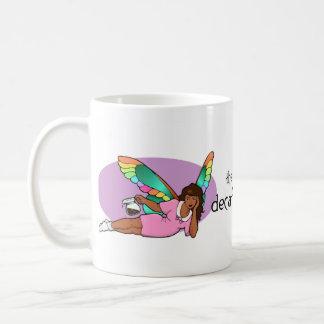The Decaf Fairy, official mug