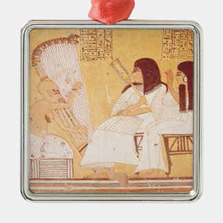 The deceased and his wife christmas ornament