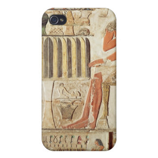 The deceased in front of a table of food iPhone 4 case