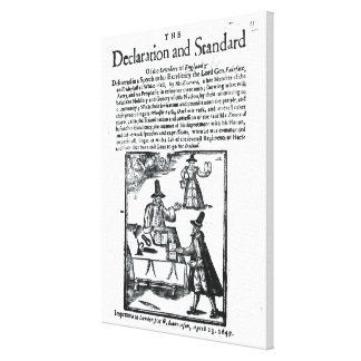 The Declaration and Standard of the Levellers Canvas Print
