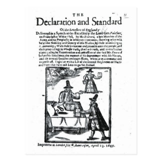 The Declaration and Standard of the Levellers Postcard