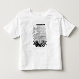 The Declaration of Arbroath, 6 April 1320 Toddler T-Shirt