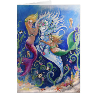 The Decorated Water horse Card