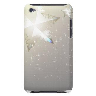 The decorative abstract winter iPod case design.
