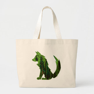 THE DEEP FOREST LARGE TOTE BAG