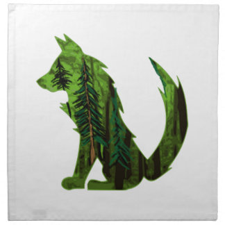 THE DEEP FOREST NAPKIN