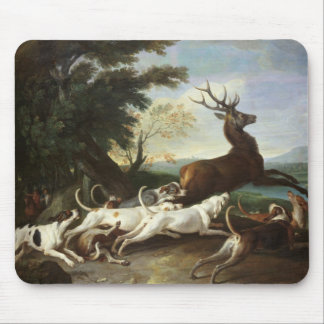 The Deer Hunt, 1718 Mouse Pad