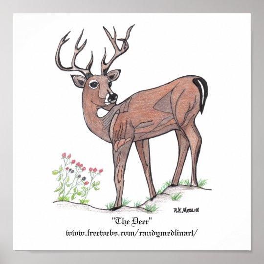 """The Deer"" Poster"