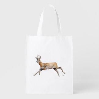 The Deer Reusable Grocery Bag