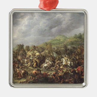 The Defeat of Porus by Alexander the Great Christmas Ornament