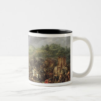 The Defeat of Porus by Alexander the Great Two-Tone Mug