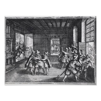 The Defenestration of Prague in 1618 Poster