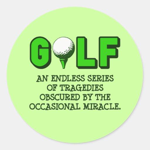the definition of golf round sticker zazzle