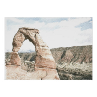 The Delicate Arch Posters