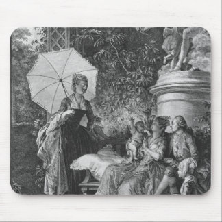 The delights of motherhood mouse pad