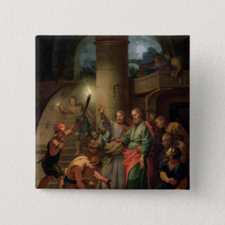 The Deliverance of St. Paul and St. Barnabas 15 Cm Square Badge