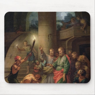 The Deliverance of St. Paul and St. Barnabas Mouse Mat