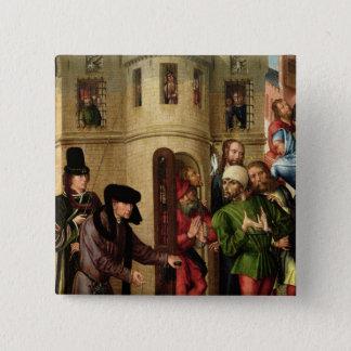 The Deliverance of the Prisoners, c.1470 15 Cm Square Badge