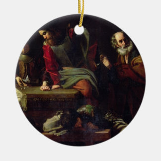 The Denial of St. Peter Christmas Ornament