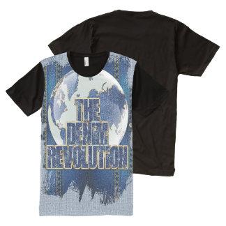 The Denim Revolution All-Over Print T-Shirt