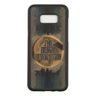 The Denim Revolution Carved Samsung Galaxy S8+ Case