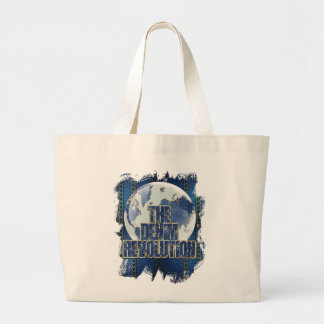 The Denim Revolution Large Tote Bag
