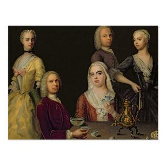 The Denner Family Postcard