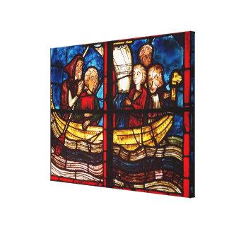 The Departure for Jerusalem Canvas Print