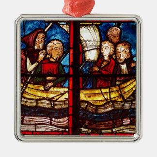The Departure for Jerusalem Christmas Ornament