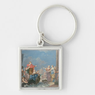 The Departure of Aeneas Key Ring